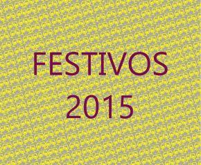 FESTIVOS 2015